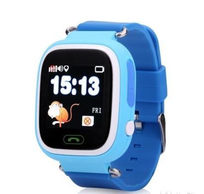 Детские умные смарт часы с GPS Smart Baby Watch Q90 Голубые Smart ... 51b6373a76571